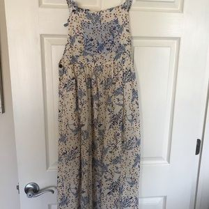Urban outfitters floral overall dress